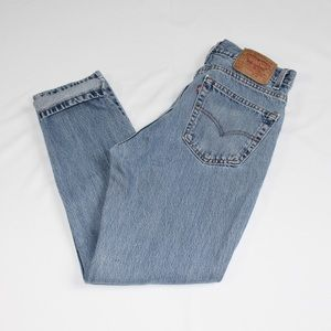Levis 512 Slim Light Wash Jeans Made in USA 32x30